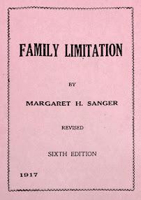 Cover of Margaret Sanger's Book Family Limitation