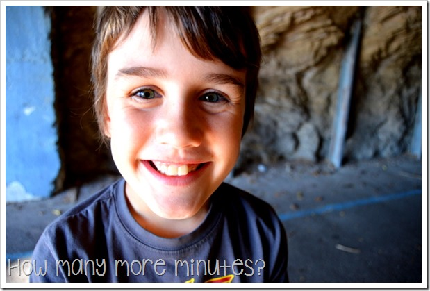 Cockatoo Island ~ How Many More Minutes?