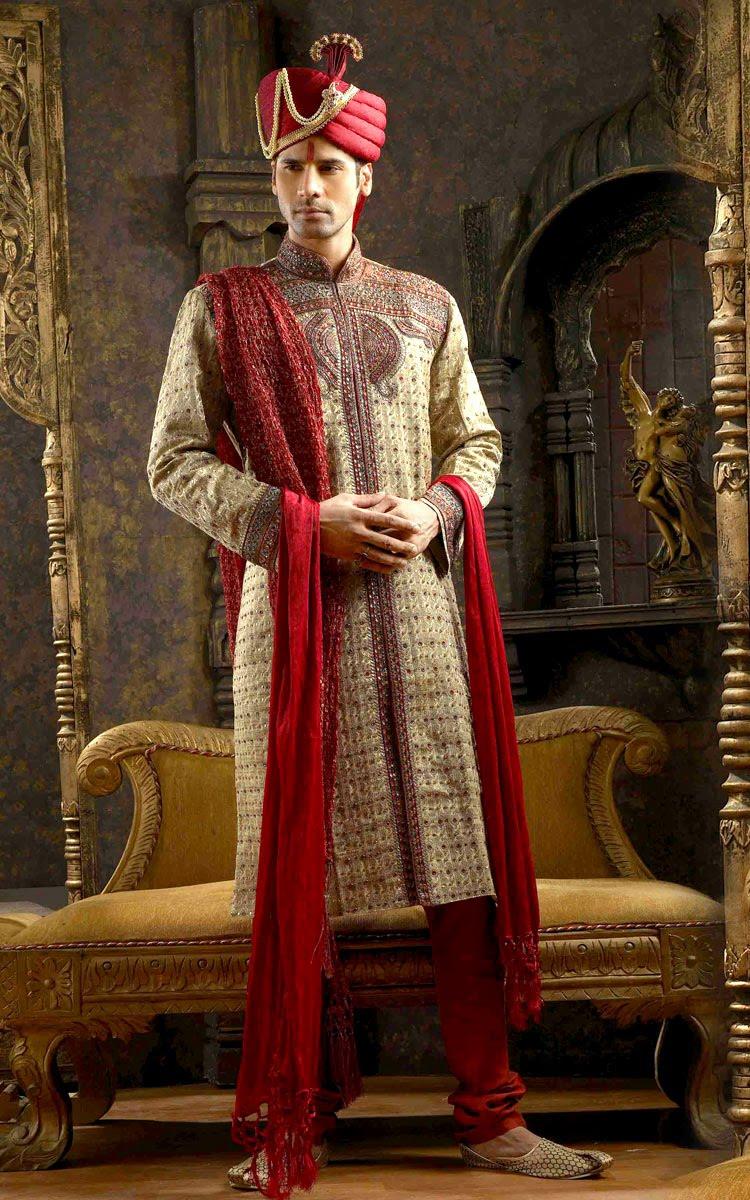 Indian wedding dress for men