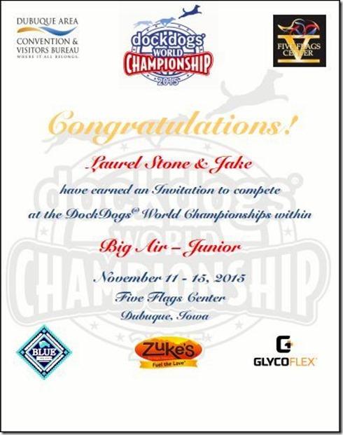 2015 Invitation - Laurel Stone & Jake BA Junior