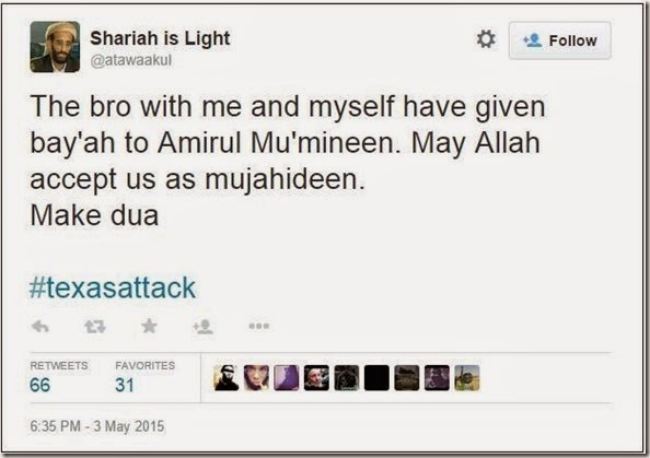 Sharia is Light Tweet