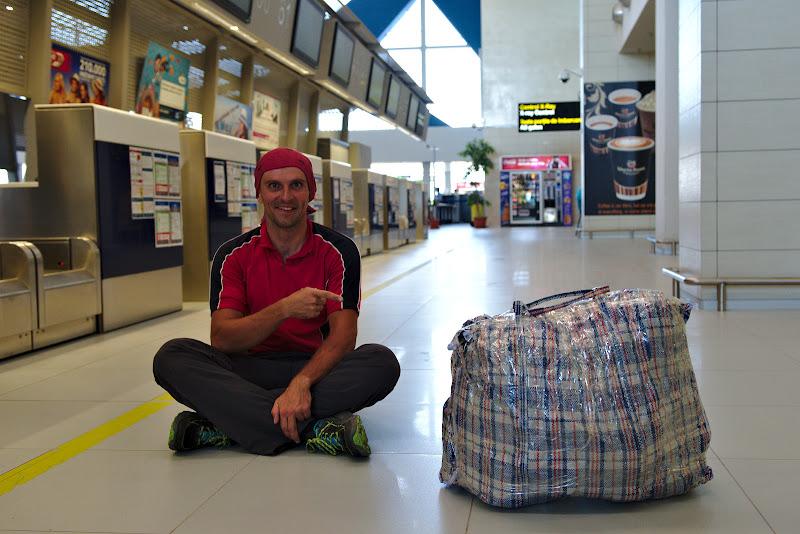 Bagajul de expeditie.