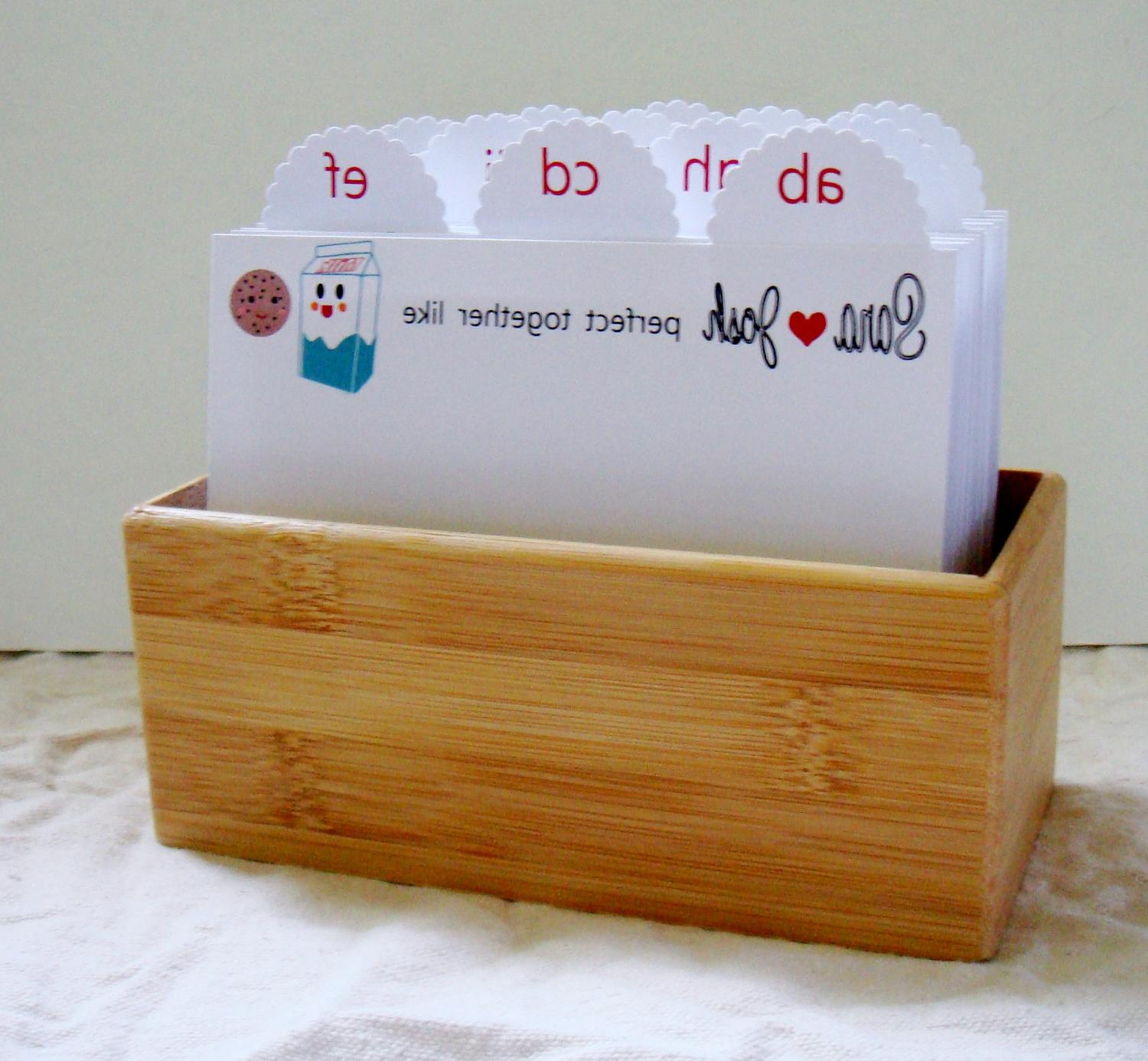 Wedding Guest Book Box