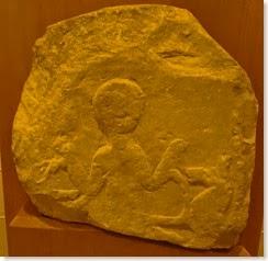 Estela ibérica dedicada a la divinidad de los caballos - Museo Arqueológico de Alcoy