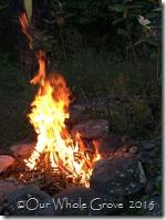 ritual fire