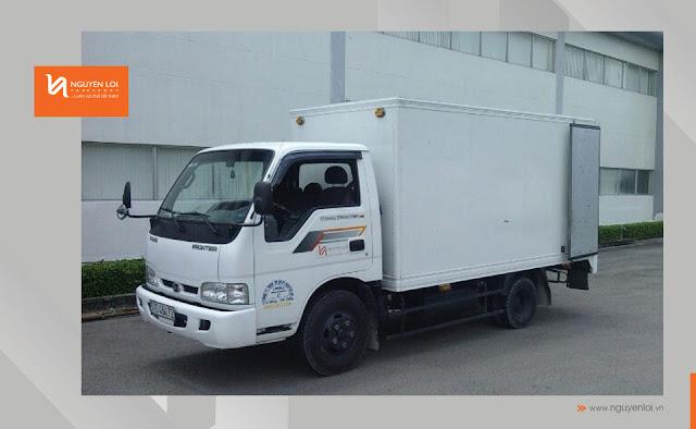 xe tải 1 tấn 4 chở hàng