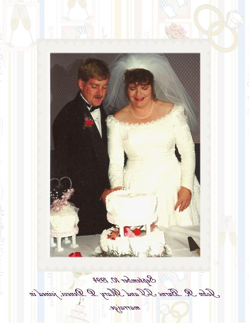 Wedding, Sept. 10, 1994   Digital Scrapbooking at Scrapbook Flair