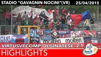 VirtusVecomp - Olginatese - Highlights del 25-04-2015