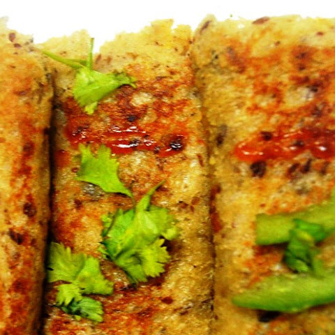 Stuffed Paneer Bread Rolls
