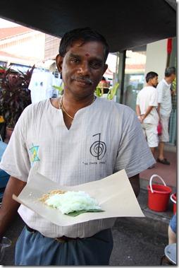 Putu & Mayung at Pulau Tikus Market