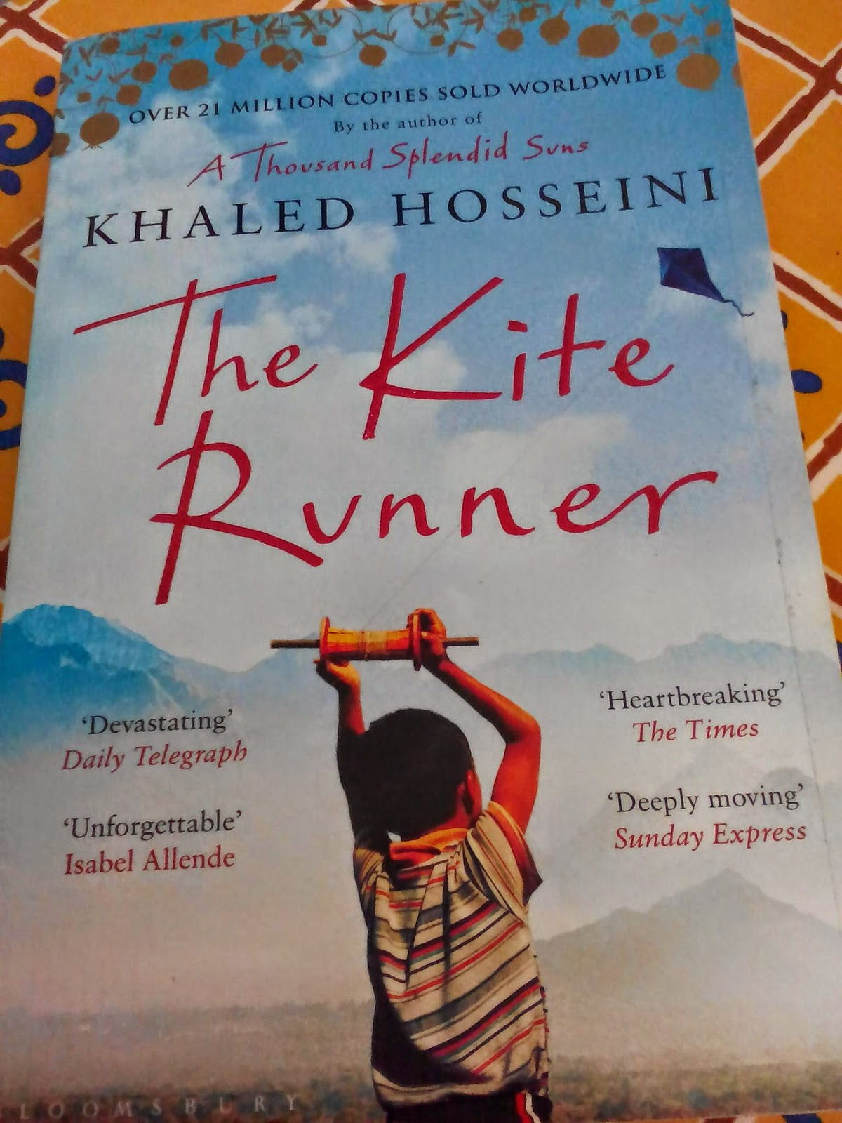 kite runner review Review of the book the kite runner, by khaled hosseini.
