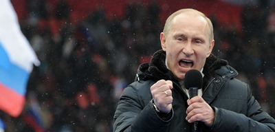 PUTIN-YELLS