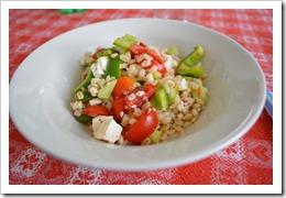 ricetta insalata pasta greca