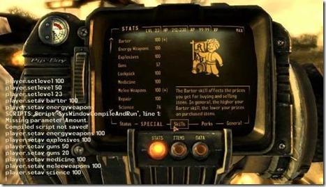 fallout4 konsoli (etualalla)