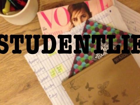 #STUDENTLIFE: Let's get organised.