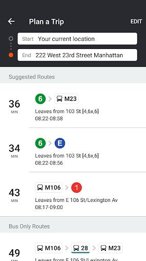 Moovit: Bus & Train Live Info screenshot 6