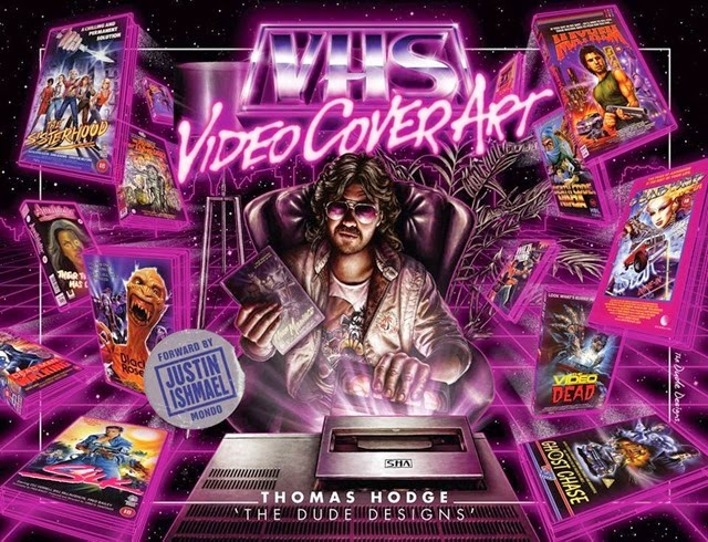 VHS Video Cover Art 1980s to Early 1990s
