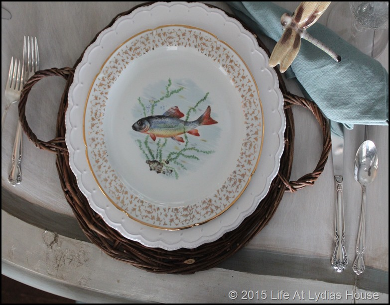 Limoges fish plate 5