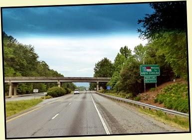 03b - beautiful ride entering North Carolina