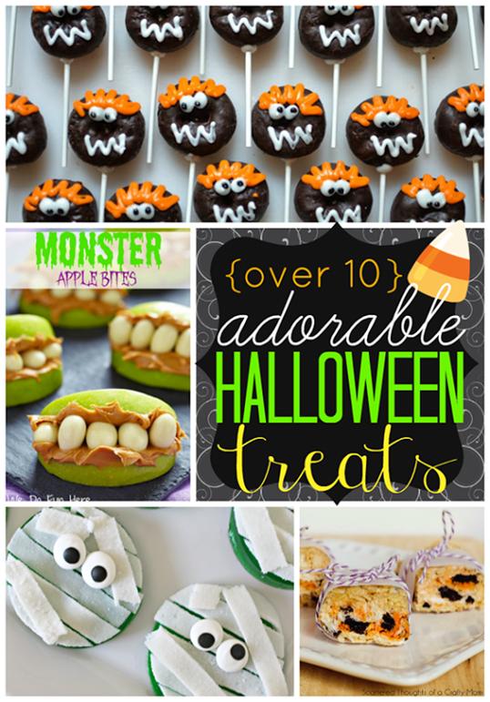 Over 10 Adorable Halloween Treats #halloween #gingersnapcrafts #features_thumb[3]