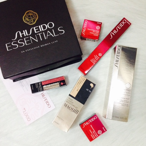 Shiseido Essentials: An Exclusive BDJBox Luxe