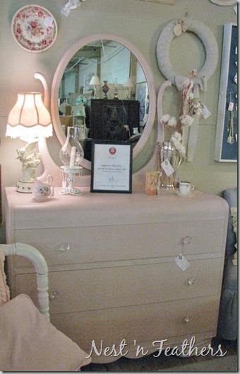 Pink Deco dresser 2