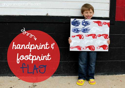 handprint & footprint flag #kidcraft #4thofJuly_thumb_thumb[1]