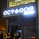 club Octagon entrance in Seoul, Seoul Special City, South Korea
