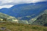 Fraai uitzicht over het dal.