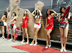 Show girls and cars