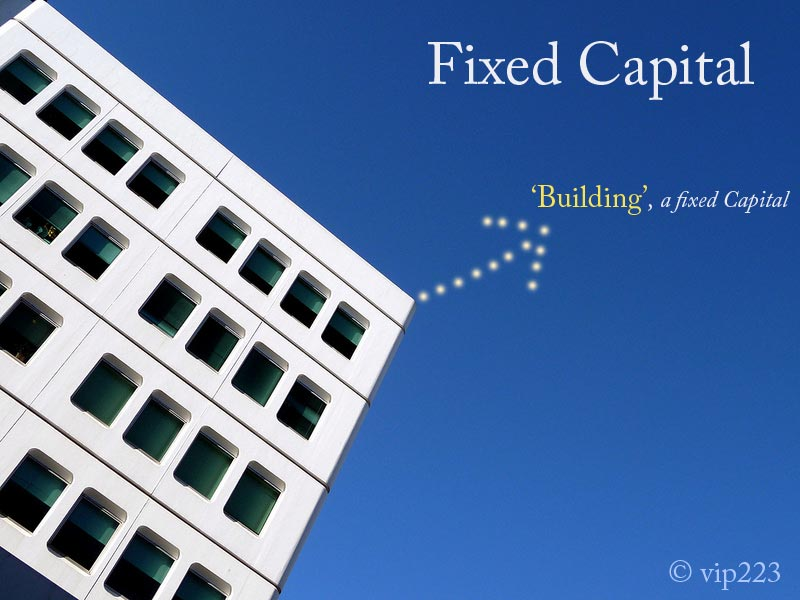 definition of fixed capital