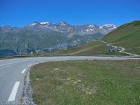 Beim Col du Mont Cenis.