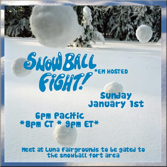EM Hosted SnowBall Fight!