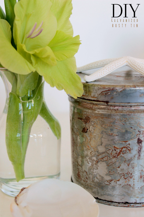 DIY Galvanized Rusty Tin via homework - carolynshomework (7)