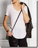 Helmut Lang Micro Modal White T-shirt