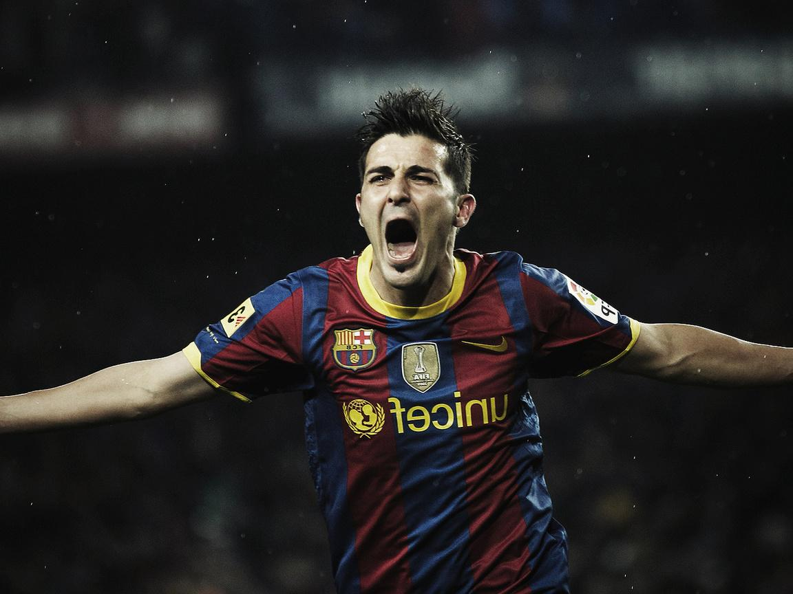 David Villa Barcelona High