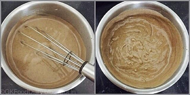Homemade Ragi Porridge Recipe for Babies   How to make Ragi Porridge 6