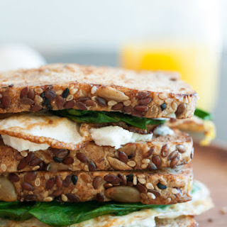 Egg Sandwich Goat Cheese Recipes