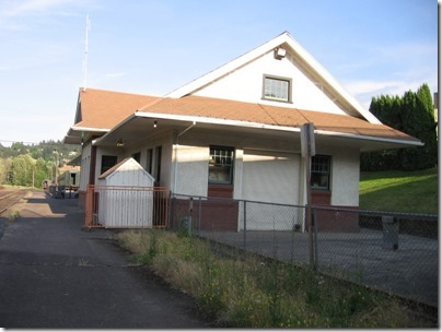 IMG_6634 Mount Hood Railroad Depot in Hood River, Oregon on June 10, 2009