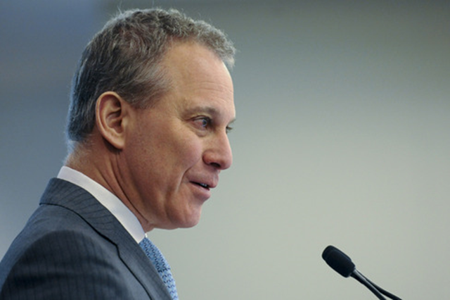 New York Attorney General Schneiderman. Photo: Louis Lanzano / Bloomberg