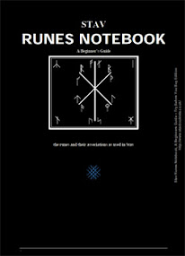 Cover of Alex Pidd's Book Stav Runes Notebook A Beginners Guide