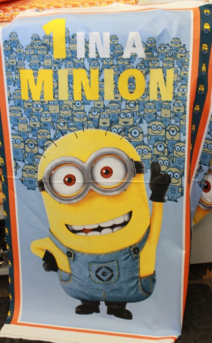 1 in a minion panel