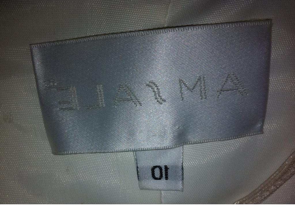 Amsale Size 10   Used Wedding