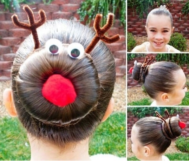ALL HAIR MAKEOVER: Christmas hairstyles for kids