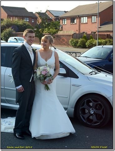 Siobhan's wedding - September