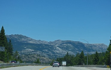 Near Emigrant Gap - I-80 Eastbound