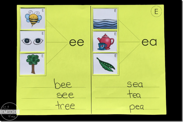 Brilliant long vowel match up activity for kids!