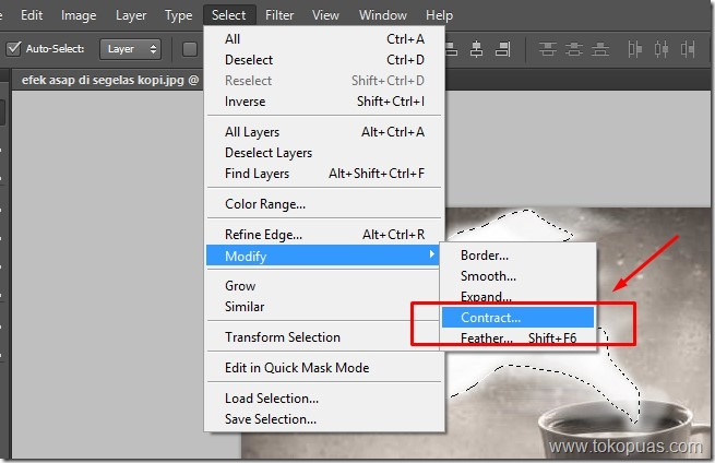 tutorial membuat efek photoshop asap putih indah