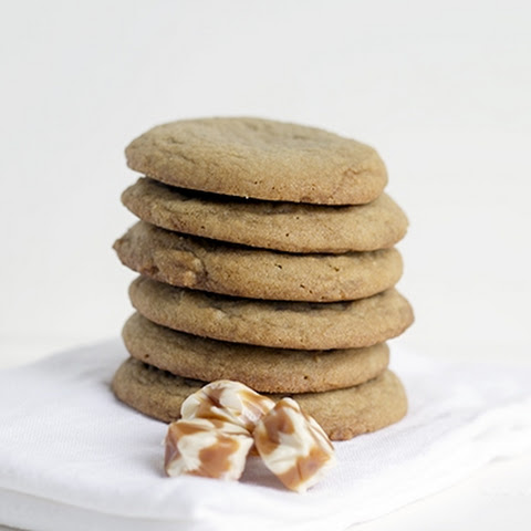 Caramel Filled Brown Sugar Cookies