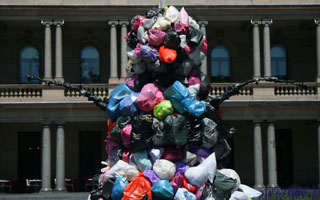 A monument to Rubbish, Sydney